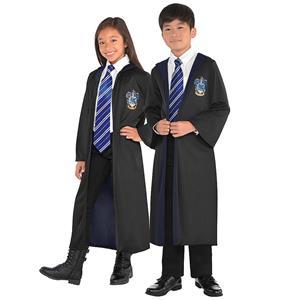 Wizard Role Play Costume, Children  Halloween Costume, Wizard Magic Robe Halloween Costume, Halloween Robe Costume, Children Wizard Cosplay Costume, Ravenclaw Robe, #N18998
