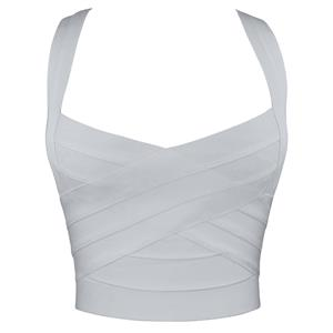 Plain Bandage Top, Sexy Women
