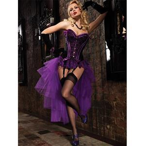 3pc Valentina Corset & Mesh Skirt N2007