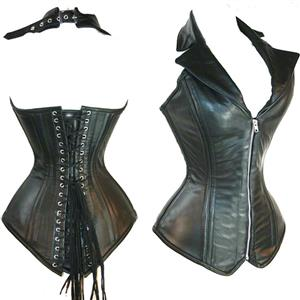 Vest Leather Corset N6545