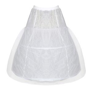 Bridal White Mesh Petticoat, Princess Underdress Petticoat, Victorian Princess Underskirt, Women