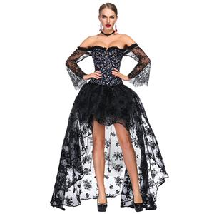 Sexy Corset and Skirt Sets, Women