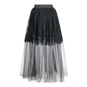 Gothic Sheer Mesh Corset Skirt, Gothic Cosplay Skirt, Halloween Costume Skirt, Gothic Sheer Mesh Long Skirt, Elastic Skirt, Sexy See-through Floral Lace Skirt, Sexy Gothic Black Skirt, #N19424