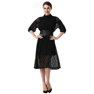 Sexy Sheer Lace Dresses, Women