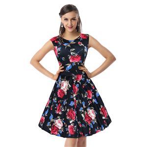 Retro Dresses for Women 1960, Vintage Dresses 1950
