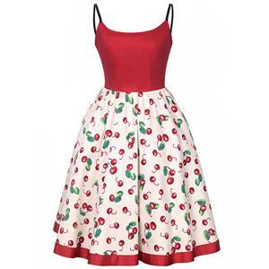Vintage Dresses for Women, Sexy Dresses for Women, Party Dresses, Midi Dress, Swing Dress, #N14395