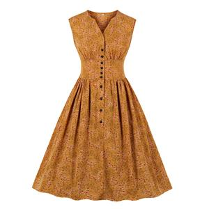Cute Swing Dress, Retro Dresses for Women 1960, Vintage Dresses 1950