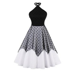 Retro Dresses for Women Black, Vintage Dresses 1950