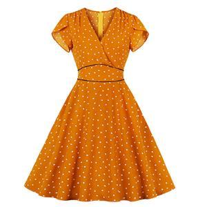 OL Dress, Fashion Cocktail Party Midi Dress, Retro Cocktail Midi Dress, Vintage High Waist Swing Dress, Retro Dresses for Women 1960, Vintage Dresses 1950