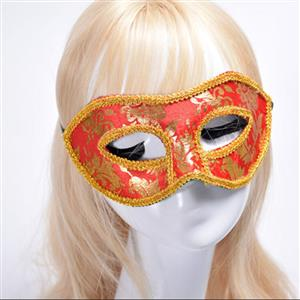 Noble Mysterious Masquerade Party Mask, Halloween Party Masks, Vintage Costume Ball Masks, Retro Gilding Mask, Victorian Gothic Masquerade Party Mask, Charming Flower Eye Mask, Victorian Gothic Gilding Eye Mask, Party Accessory, #MS20001