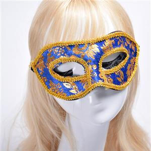 Noble Mysterious Masquerade Party Mask, Halloween Party Masks, Vintage Costume Ball Masks, Retro Gilding Mask, Victorian Gothic Masquerade Party Mask, Charming Flower Eye Mask, Victorian Gothic Gilding Eye Mask, Party Accessory, #MS20003