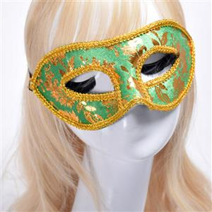 Noble Mysterious Masquerade Party Mask, Halloween Party Masks, Vintage Costume Ball Masks, Retro Gilding Mask, Victorian Gothic Masquerade Party Mask, Charming Flower Eye Mask, Victorian Gothic Gilding Eye Mask, Party Accessory, #MS20004