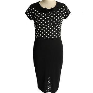 Plus Size Dresses, Cheap Dresses for women, 1950s Vintage Dresses for women, Cocktail party dresses, Evening Dresses, #N12072