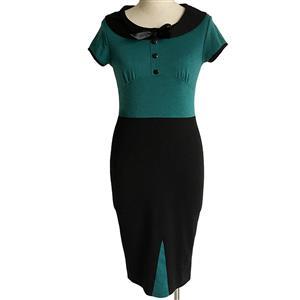 Plus Size Dresses, Cheap Dresses for women, 1950s Vintage Dresses for women, Cocktail party dresses, Evening Dresses, #N12073