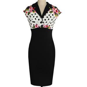 Plus Size Dresses, Cheap Dresses for women, 1950s Vintage Dresses for women, Cocktail party dresses, Evening Dresses, #N12077