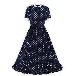 Cute Swing Dress, Retro Dresses for Women 1960, Vintage Dresses 1950
