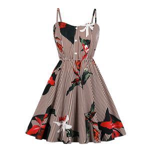 Cute Summer Swing Dress, Retro Dresses for Women 1960, Vintage Dresses 1950