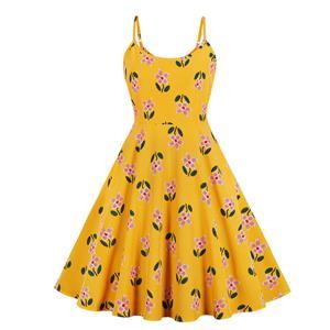 db8ce8223da9e Cute Summer Swing Dress, Retro Dresses for Women 1960, Vintage Dresses 1950