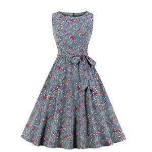 Cute Big Swing Dress, Retro Dresses for Women 1960, Vintage Dresses 1950