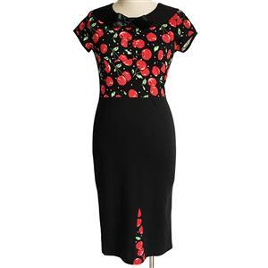 Plus Size Dresses, Vintage Dress, Cheap Dresses for women, Vintage Dresses for women, Cocktail party dresses, Evening Dresses, #N12071