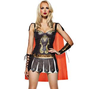 Warrior Princess Costume, Sexy Roman Soldier Costume, Sexy Roman Gladiator Costume, #N1505