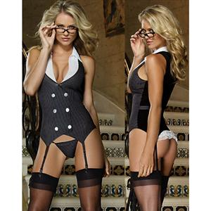 Executive Lady, Naughty Executive Costume, Sexy Secretary Costume, #N2902