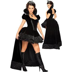 Sexy Costumes, Enchanting Queen of Hearts Costume, Sexy Adult Fairy Tale Costumes, #N3052