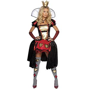 Wicked Wonderland Queen Costume N5849
