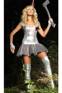 Tempting Tin Man Costume, Womens Tin Man Costume, Adult Tin Man Costume, #N1691