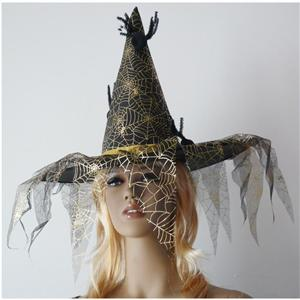 Witch Hat Spider Web, Spider Web Witch Hat, Witch Hat, #MS2919