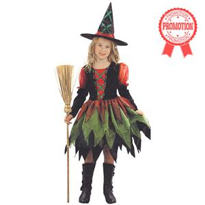 Childrens Fairy Witch and Tutu, Witch fairy fancy dress costume, Girls Fancy Dress Costumes for Halloween, #N5967