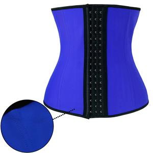 Latex Underbust Corset, Elastic Body Shaper Bustier, High Quality Blue Steel Bone Underbust Corset, Plus Size Corset, #N18660