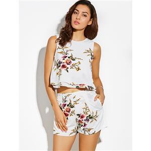 Pant Sets, Pant Sets for Women, Floral Print Pants, Floral Print Tops, Women