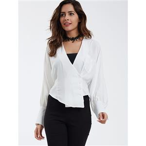 Tops, The Tops, Blouses and Tops, Long Sleeves Blouses, Sexy Blouses for Women, #N14381