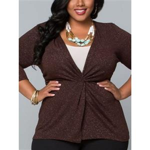Tops, Blouses, Tops for Women, Plus Size Tops, Casual Tops, Sleeve Tops, Fashion Tops, #N14374