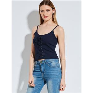 Vest for Women, Spaghetti Strap Vest, Backless Vest, Camisole Vest,  Casual Vest for Women, #N14302