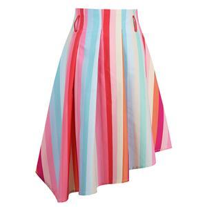 Sexy Skirt for Women, Irregular Skirt,  Asymmetric Knee Length Skirt, Multicolor Sexy Skirts, Hi-Waist Irregular Skirt, Women Skirts, #N14244