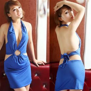 Sexy Blue Dress, Women