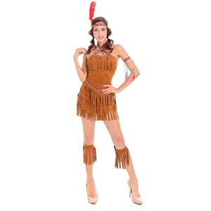 Native American Fringe Dress Costume, Indian Adult Costume, Tribal Native American Costume, Native American Maiden Costume, #N14608
