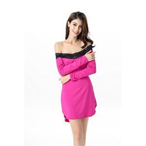 Sexy sleepwear dress for women, Women Night Dress, Nightwear for Women, Maternity Sleepwear, Sexy Lingerie dress, Sleep Shirt, Sleep Tunic, #N11630