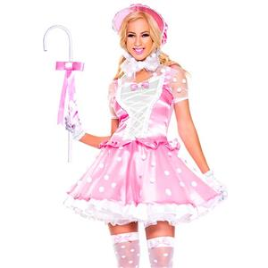 Little Bo Peep Costumes, Hallween Cosplay Costume, Leprechaun Costumes, Women