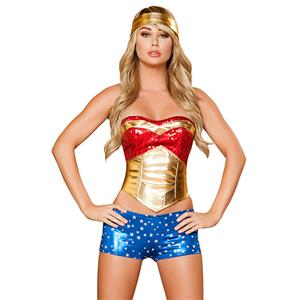 Wonder Heroine Costume N6187