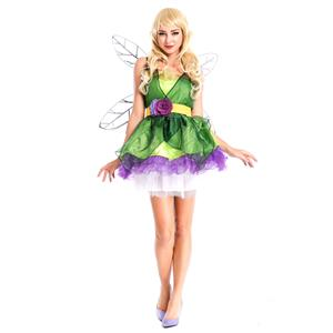 Woodland Fairy Costume, Green Fairy Costume, Adult Fairy Costume, #N4275