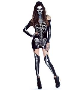 X-Rayed Hottie Glow In The Dark Costume N10507