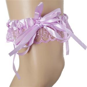 Purple Leg Garter, lingerie Purple Garter, sexy Lace Garter, #HG7388