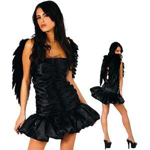 Dark Naughty Angel Costume, Naughty Dark Angel Costume, Dark Angel Costume, #N1381