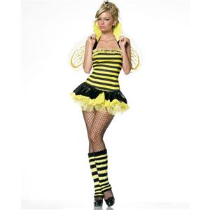 Sexy Bee Costume, Sexy Queen Bee Costume, Queen Bee Costume, #N1379