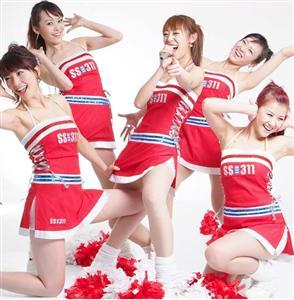 Cheer Leader Costume, Sexy Cheerleader Halloween Costume, Sexy Cheerleader Costume, #M1297