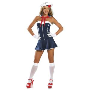 Sexy Sailor Costume, Sexy Mermaid Costumes, Sailor Costumes Women, #M803
