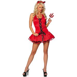 Devilish Nights Costume, Sexy Devil Halloween Costume, Naughty Devil Costume, #M838